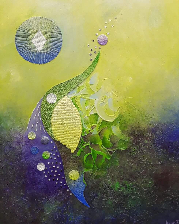 abdoukarim_fall_peinture_africaine_le jardin le matin_talents_dorigine