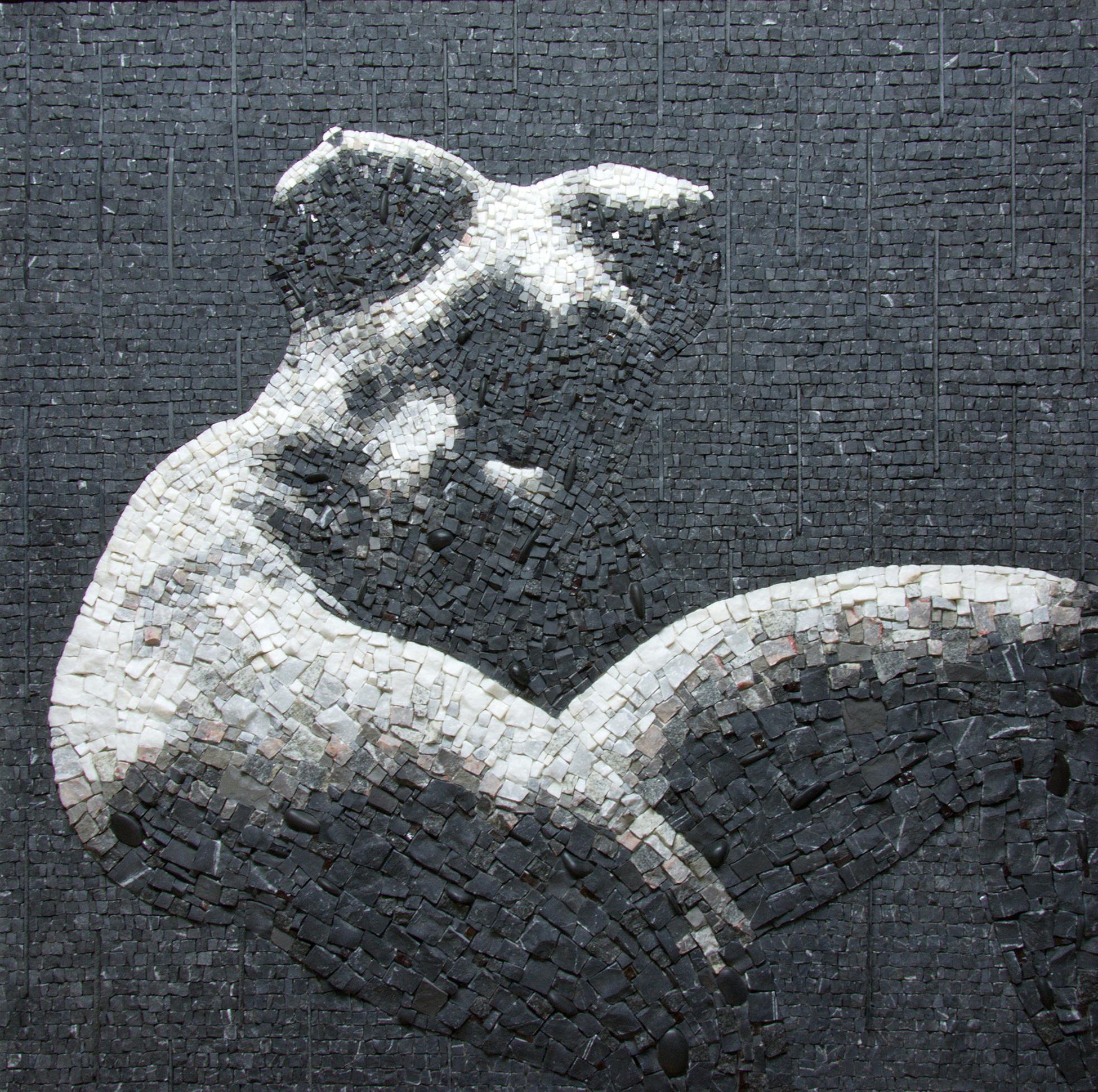 agnes-bethlen_oeuvre-Nu_mosaïque_noir_blanc_contemporaine_talents_dorigine