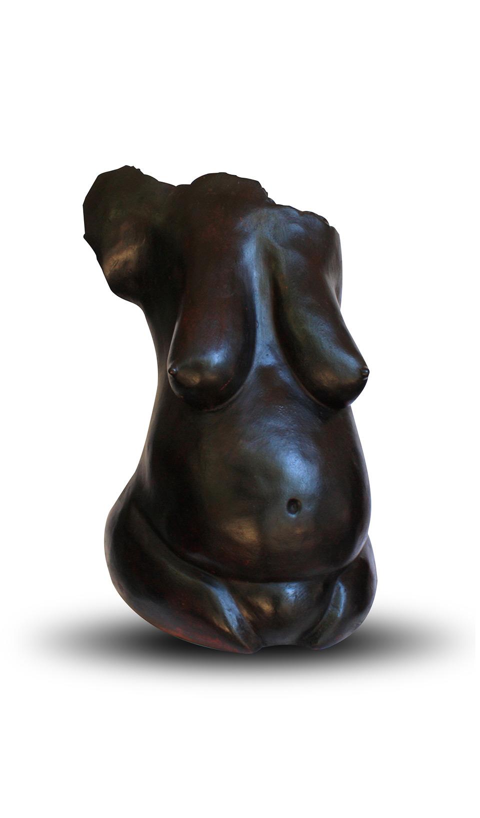 alpha-sow_oeuvre-ce¦üramique-le-feminin_art_afrique